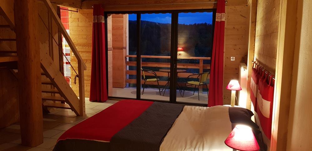 Chambres d'hôtes de charme 4 épis avec piscine dans le Jura
